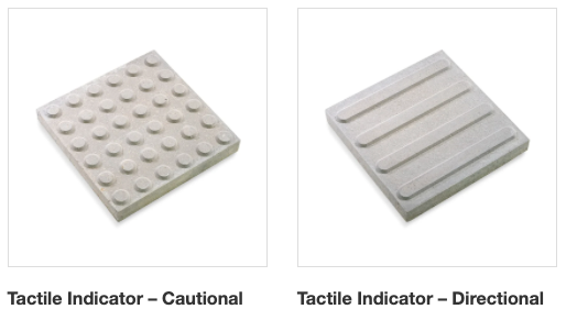 Cautional & Directional Tactile Indicators